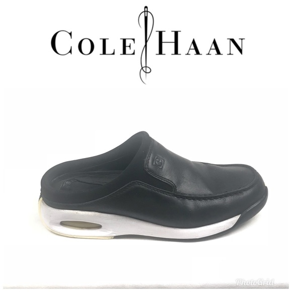 16d1a6b5cb Cole Haan Nike Air Mule Shoes Black Size 7 1/2 B